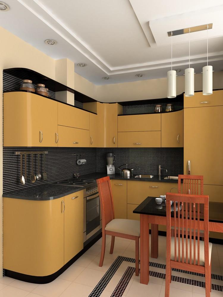 Дизайн кухни 2 м фото